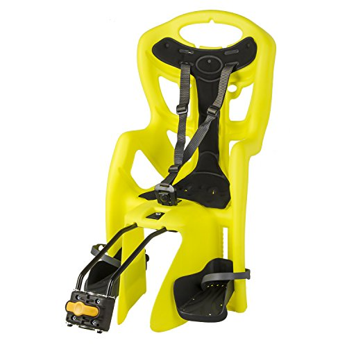 Bellelli Pepe Seatpost Mounted Baby Carrier, Yellow ()