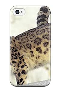 Iphone Case - Tpu Case Protective For Iphone 4/4s- Snow Leopard Pictures