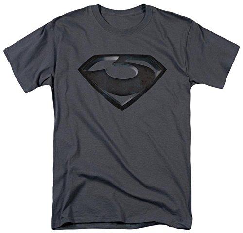 Man of Steel - Zod Shield T-Shirt Size XL (General Zod T Shirt Man Of Steel)