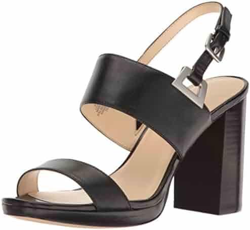 Nine West Women's Paladian Leather Dress Sandal