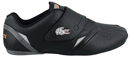 Lacoste Men's Protect M Fashion Sneaker,Black/Orange,11 M US