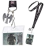 Underground Toys Doctor Who Lanyard Don't Blink with 3D Weeping Angel Charm