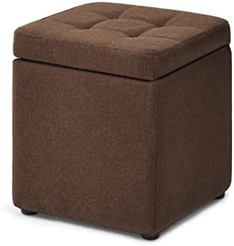 Amazon.com: LS-Stool Pouf Storage Beanbag Footrest Storage ...
