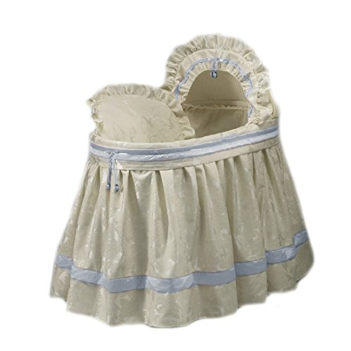 aBaby King and Queen Bassinet Set, Blue