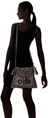 Black cm L Body Noir x Antik Bag Zitha H Batik 5x25x33 W Women's Cross qwqOBFnx