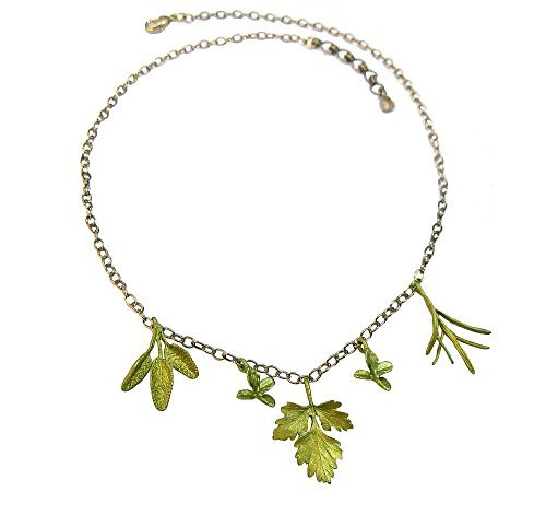 Michael Michaud for Silver Seasons Petite Herb Necklace 8955 by Michael Michaud