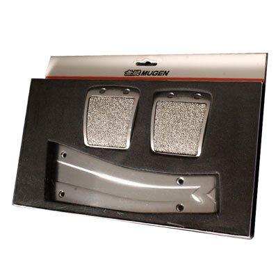 Mugen Power Sport JDM Racing 3pcs Pedal Set - Manual M/T (Jdm Types Pedals)