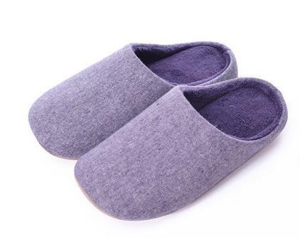 inverno men pantofole blue donne in mute morbido fondo cotone purple female Indoor pantofole uomini autunno casa e e a casa di wSXS4AqBT