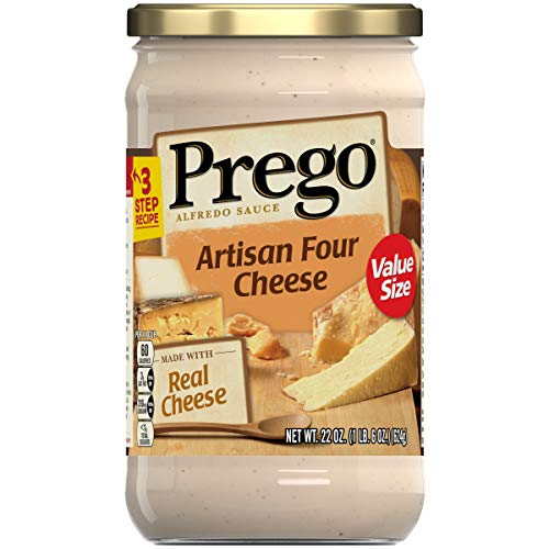 (Prego Alfredo Sauce, Artisan Four Cheese, 22 Ounce)