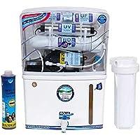 Aquafresh Plus RO+UV+TDS+UF Storage Tank Capacity, 12 L,Multi-coloured