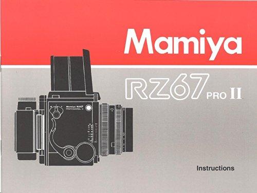 Mamiya RZ67 Pro II Original Instruction Manual
