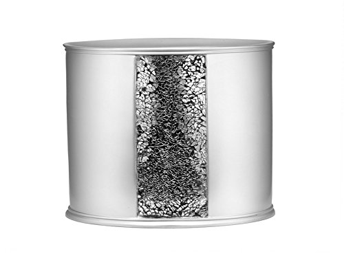 Sweet Home Collection Popular Bath Collection Bathroom Accessories, Waste Basket, Sage