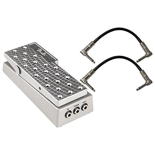 Patch Passive Volume Control - Fender FVP-1 Volume Pedal w/ 2 Patch Cables