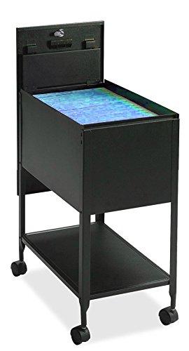 Portable Filing Cabinet Folder Organizer Vertical Storage Wire Metal Shelf Tier Steel Date Single Holder & Ebook by AllTim3Shopping. by Ats
