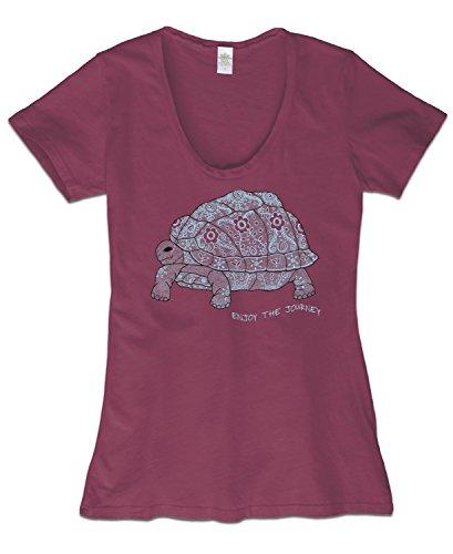 Soul Flower Women's Enjoy the Journey Organic T-Shirt