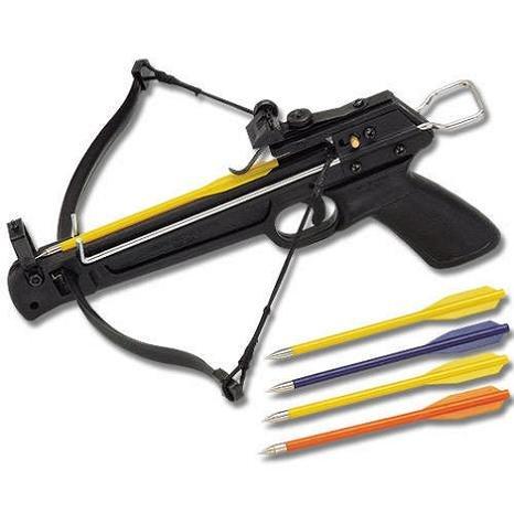 Outstanding Performance 80 LBS Fiberglass Pistol Crossbow
