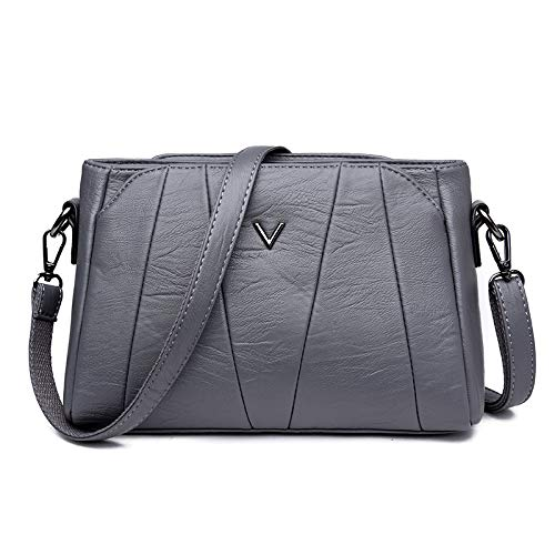 Deportes satchel bolsa hombro Ocio minimalista de Bag bag Outdoor Gray Shoulder Single XULULU 6cpgzt6