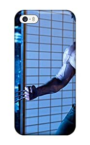 For Iphone 5/5s Fashion Design Hugh Jackman In The Wolverine Case-WIwMHlH5744tpjrD