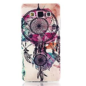 HJZ Campanula Pattern Soft TPU Case for Samsung Galaxy A7