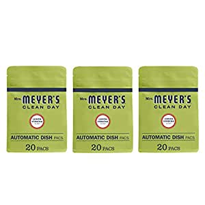 Amazon.com: Mrs. Meyer's Clean Day Automatic Dish Pacs