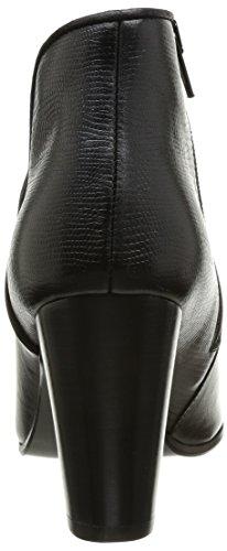 JONAK 264 Dasco Cu H4 - Botas Mujer Cuir/Tejus Noir