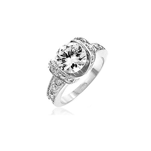 Tension Set Engagement Ring - Size 9 from Icon Bijoux