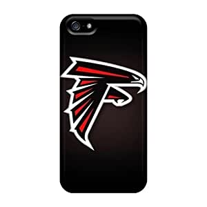 Scratch Protection Hard Phone Covers For Iphone 5/5s (cli194bOyD) Support Personal Customs Nice Atlanta Falcons Skin