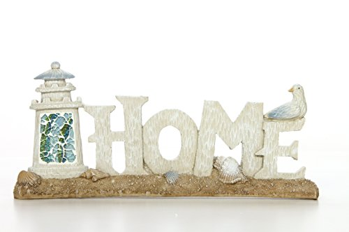 Hosley 12'' Long, Decorative Tabletop Home Word Art. Ideal Gift for Wedding, Home, Party Favor, Spa, Reiki, Meditation, Bathroom Settings O9 by Hosley (Image #1)