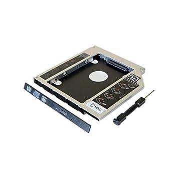 Cajón reproductor de CD portátil para disco duro HDD/SSD 2,5, 9,5 ...