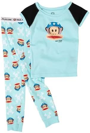 Kids Headquarters Sleepwear  Little Boys' Paul Frank 2 Piece Pajama, Blue, 2T