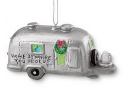RV Trailer made our list of the most unique camping Christmas tree ornaments to decorate your RV trailer Christmas tree with whimsical camping themed Christmas ornaments!