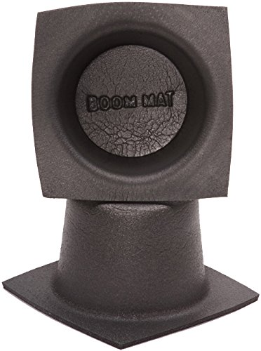 "DEI 050330 Boom Mat Speaker Baffles, 6.5"" Round (Pack of 2)"