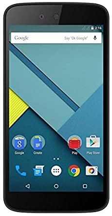 Micromax Android one AQ4502 (Black)
