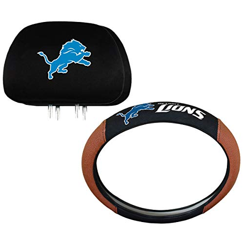 Detroit Lions Steering Wheel Covers Price Compare