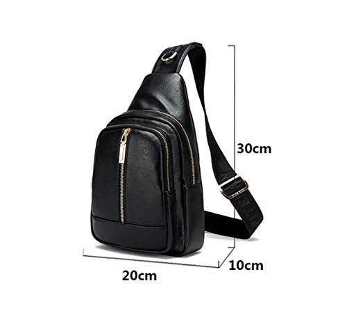 Shoulder Casual Men Black Fashion Bags Wild Backpack 's Corset Travel Outdoor Bag qtPYt