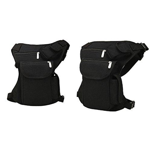 tinsay New Men Woman Multi-Purpose Racing Drop Leg/Waist Bag/Fanny Pack Motorcycle Outdoor Cycling Thigh Tactical Bag