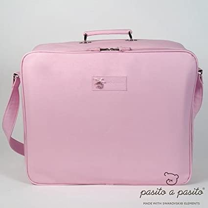 / Valise couleur ROSE Pasito a pasito/