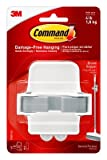 Command Broom Gripper, White with Grey Band - Case Pack (12 Grippers)