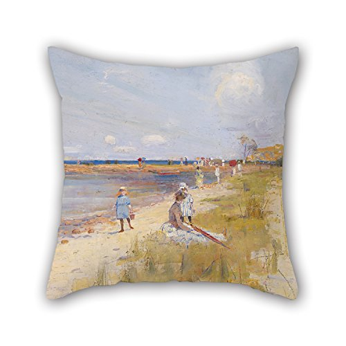 [Uloveme Throw Pillow Covers Of Oil Painting Charles Conder - Rickett's Point 18 X 18 Inches / 45 By 45 Cm,best Fit For Wedding,floor,kids,outdoor,car Seat,kids Girls Two] (Pictures Of Punk Rocker Costumes)