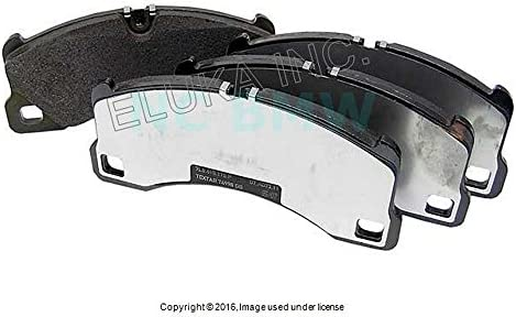 Amazon.com: Porsche Front Disc Brake Pad Set Cayenne Turbo Panamera 4S Panamera S Panamera Turbo: Automotive