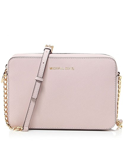MICHAEL Michael Kors Women's Large East / West Cross Body Bag, Soft Pink, One Size