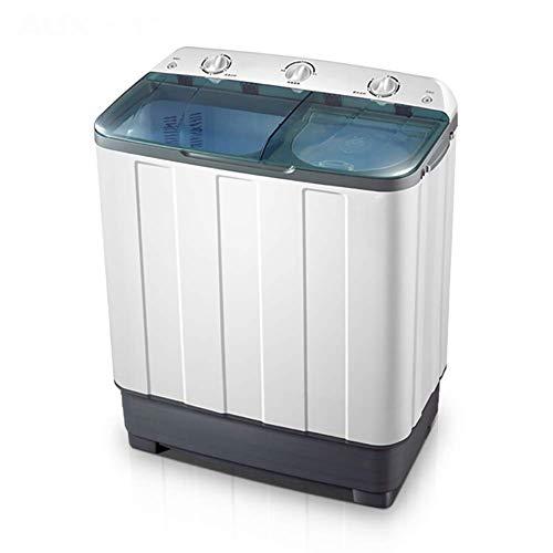 HAMMER Compact Twin Tub tragbare Mini-Waschmaschine 15 lbs Kapazität, Waschmaschine und Spiner10lbs / Einbau-Ablaufpumpe…