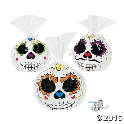 Day Of The Dead Party Bags - 1