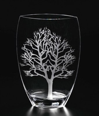 Amazon Nature Home Decor 84cd827 Tree Of Live Etched 12 Inch