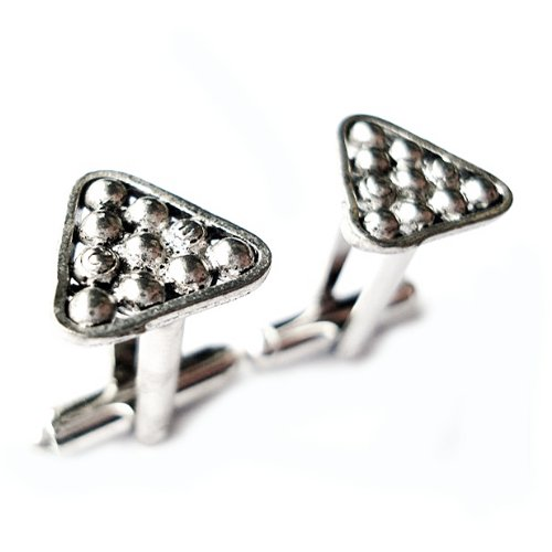 Pool Cue Cufflinks, Business Gift, Wedding Present, Gift Box Included