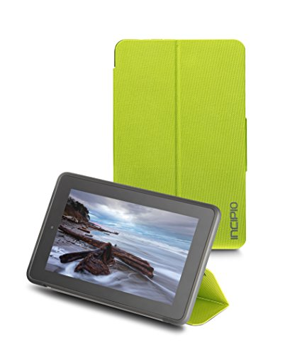 (Incipio Clarion Folio Fire Case (5th Generation - 2015 release), Citron Green)