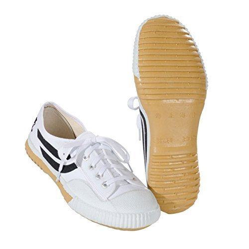 for Martial arts white KWON Canvas shoes pxq70Af