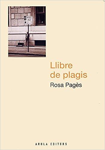 Resultat d'imatges de Llibre de plagis de Rosa Pagès