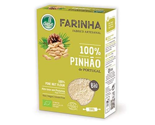 DIESE - Gluten Free Organic PINE NUT Flour - 4 x 200gr / 7.05oz by DIESE - Gluten Free Organic PINE NUT Flour - 4 x 200gr / 7.05oz