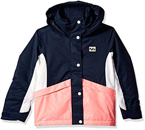 Billabong Big Kayla Girls Insulated Snow Jacket, Navy Blazer S ()